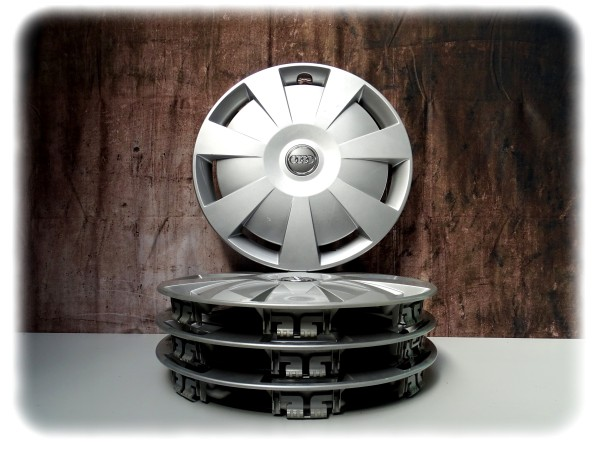 Original gebraucht Audi A3 Radzierblende (4 Stk.) 16 Zoll - Räder Zubehör - 8V0601147D