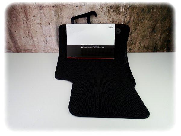 Original Audi TT Fußmatten-Satz vorne - Textil-Fußmatten - 8N1061232EB29G
