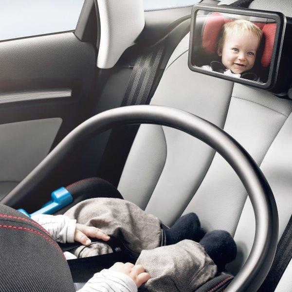Original Audi Babyspiegel für die Rücksitzbank - 8V0084418