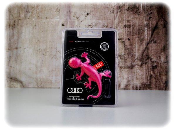 Original Audi Duftgecko in pink - Innenausstattung- 000087009AC