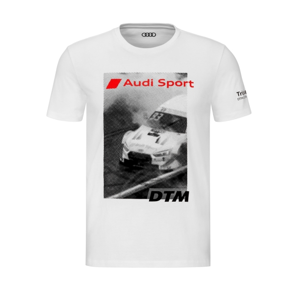 Audi Sport - Audi Sport Shirt DTM, Herren, weiß 2XL