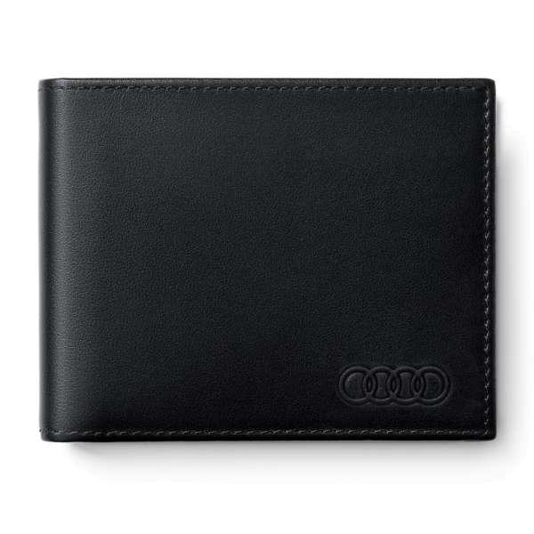 Audi Sport - Audi Geldbörse Leder, Herren, schwarz
