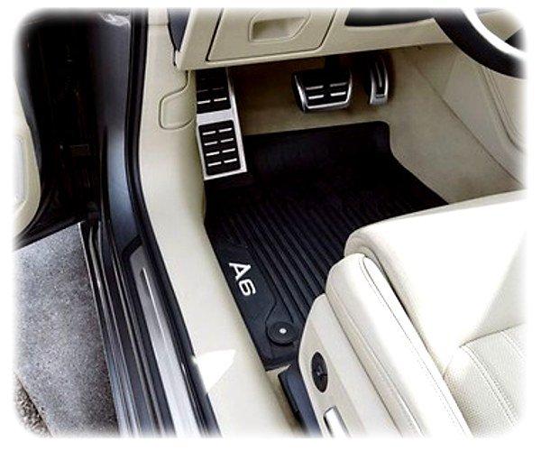 Original Audi A6 / S6 / RS6 Fussmatten-Satz vorne - Allwetter-Fussmatten - 4K1061501 041