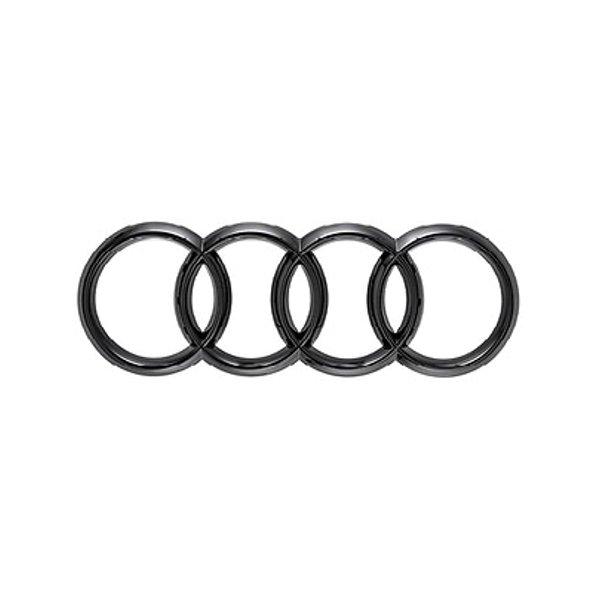 Original Audi Ringe in schwarz für hinten - A5 / S5 - 8W6071802