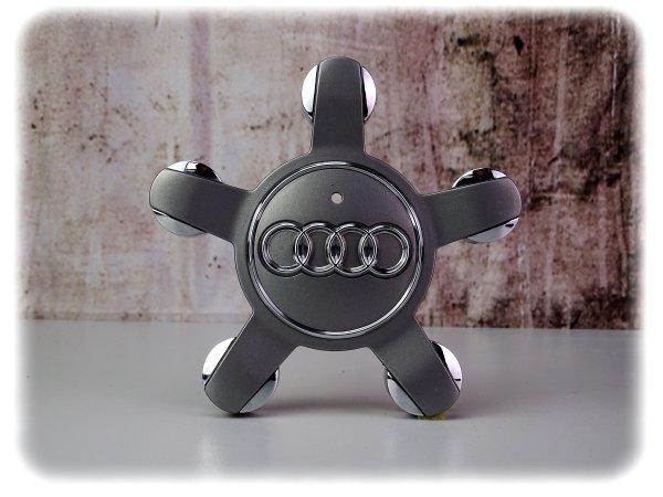 Originaler gebrauchter Audi A3 / A4 / Q3 / Q5 Radnabendeckel-Satz - Räder Zubehör - 8R0601165