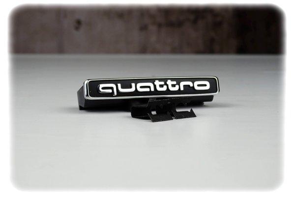 Original Audi A3 Quattro Emblem - Ersatzteile für Kühlergrill - 8V0853736 2ZZ